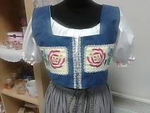 Iné oblečenie - Brusliak s výšivkou ... - 6404206_