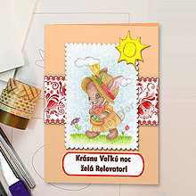 Papiernictvo - Veľkonočná pohľadnica Ornamenty - 6404582_