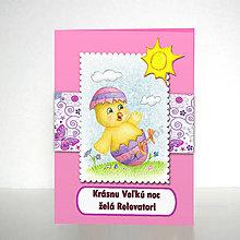 Papiernictvo - Veľkonočná pohľadnica Z lúky - 6404609_