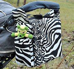 Veľké tašky - Praktická veľká taška na kočík - 6406118_