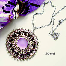 Náhrdelníky - Korálkový náhrdelník Orgován - 6405044_
