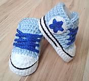Topánočky - Tenisky s hviezdičkou - 6406706_