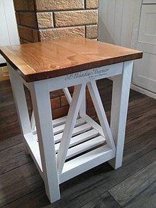 Nábytok - stolík - 6406238_