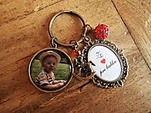 Kľúčenky - Obojstranný prívesok na kľúče-2okienka - 6409191_