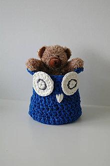 Textil - ...sovičkový košík do detskej izby - 6406260_