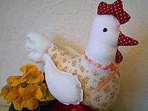 Hračky - Ružičková sliepočka ako hračka - 6409141_