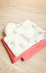 Detské oblečenie - Legínky mačičkovské - 6407671_