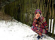 Mikiny - Aztec goddess - termo oblečko - 6408986_