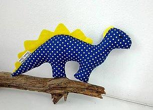 Hračky - dinko modrý - 6410387_