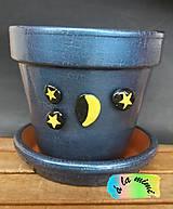 Nádoby - Mesiačik a hviezdičky - 6411530_