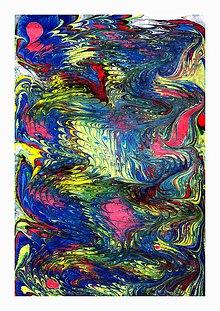 Obrazy - AKCIA - Abstrakcia 7 - 6409586_
