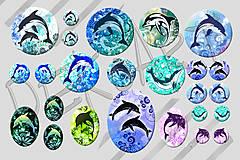 Materiál ručne robený - Motívy na šperky č.43- akcia 4+1 zdarma na všetky motívy - 6413796_