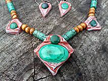 Sady šperkov - Set Malachit - 6411699_