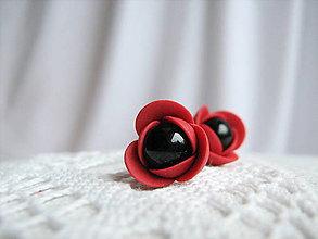 Náušnice - Poppy, náušnice - 6413111_