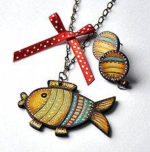 Sady šperkov - Zlatá rybka - 6410461_