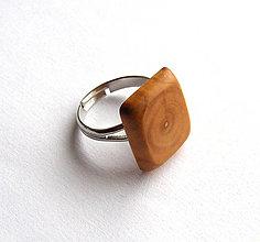 Prstene - Višňový štvorček - 6413260_