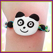 Náramky - Panda (Shamballa náramky) - 6412738_