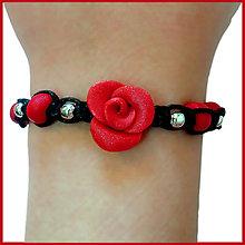 Náramky - Elegant Rose (Shamballa náramky) - 6412768_
