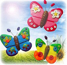 Magnetky - Motýle - 6413016_