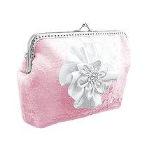 Taštičky - Svadobná růžová kabelka, dámská kabelka 0555 - 6419006_
