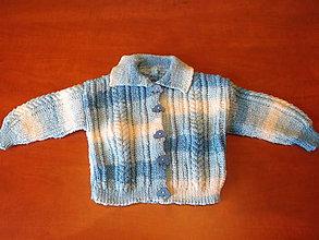 Detské oblečenie - svetrík pre princa - 6416819_