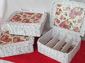 Košíky - Náruč ruží - 6415259_
