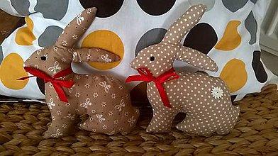 Dekorácie - Veľkonočný zajac - 6418169_