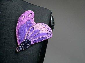 Odznaky/Brošne - Šperk-brož Motýl - SD-SA-033 - 6415973_