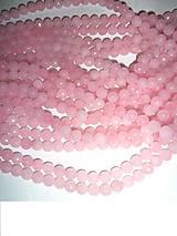 ruženín korálky fazetované 8mm