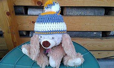 Detské čiapky - Prechodná čiapočka pre bábätko - 6413955_