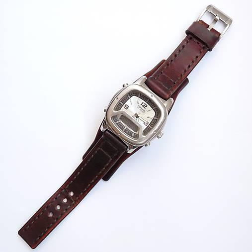 565113ac5 Kožený remienok na hodinky / leon - SAShE.sk - Handmade Náramky