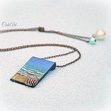 Náhrdelníky - Morský vánok - náhrdelník - 6416145_