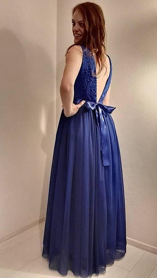 0f7e4fb09ff6 Modré šaty   LadyDK - SAShE.sk - Handmade Šaty