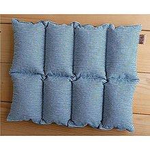 Úžitkový textil - FILKI kockáč (zelenobiely 40) - 6413902_