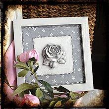 Obrázky - Obrázok na stenu ruža - 6417104_