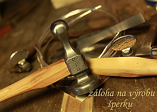 Iné šperky - šperk podľa individuálnych požiadaviek: prívesok s perlou pre Eriku - 6414685_