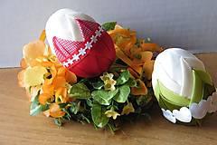Dekorácie - Patchworkové vajíčka - 6414063_