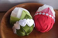Dekorácie - Patchworkové vajíčka - 6414069_