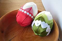Dekorácie - Patchworkové vajíčka - 6414071_