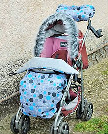 Detské súpravy - Súpravy na kočíky podľa Vášho želania - 6423813_