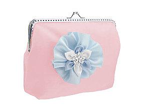 Taštičky - Svadobná kabelka růžová pre nevestu 14143 - 6419083_
