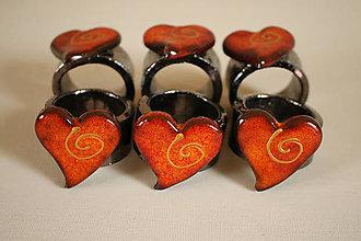 Dekorácie - Krúžky na servitky 6ks - 6422952_