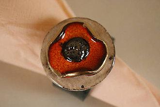 Dekorácie - Krúžky na servitky 6 ks - 6423095_