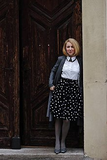 Sukne - Kolová sukně LILY - 6422388_