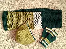 set- zeleno-zelené trio