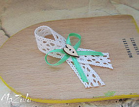 Pierka - vintage svadobné pierko VI. - 6419066_