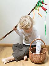 Detské oblečenie - body ZAJKO UŠKO (dlhý/krátky rukáv) - 6423641_
