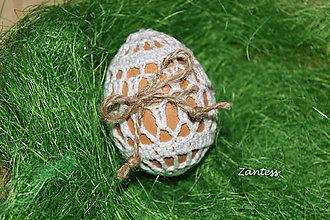Dekorácie - Veľkonočné vajíčko č.2 - 6422045_