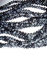 obsidián 8mm korálky