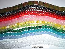 supermix korálky minerály polodrahokamy